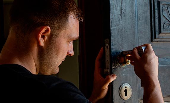 udskiftning af lås